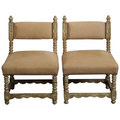 Pair of Spanish Style Chairs