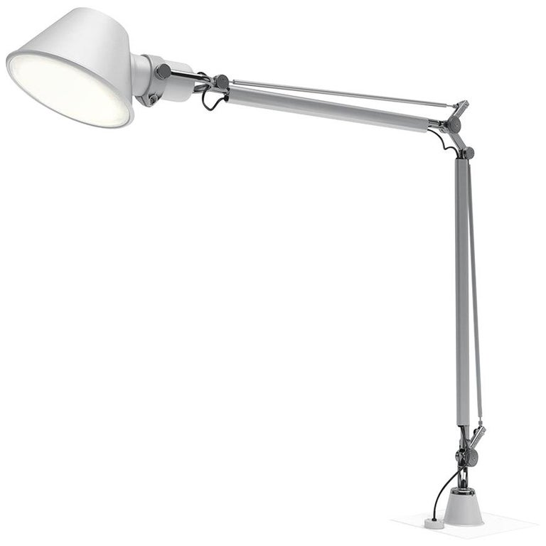 Artemide Tolomeo XXL Light in with Support by Michele De Lucchi & Giancarlo Fass