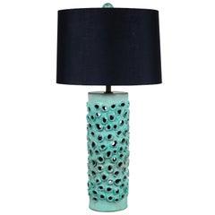 Large Trafitto Lamp by Magnolia Ceramics for Lawson-Fenning