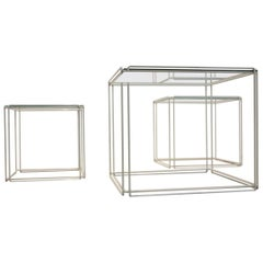 Graphical Isocele Nesting Tables by Max Sauze for Atrow, 1970s