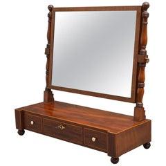 Regency Dressing Mirror in Mahogany