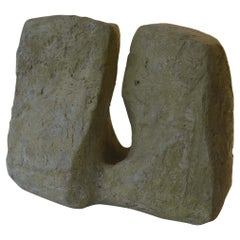 Abstract Sculpture by Bryan Blow Based on Sandstone Rocks