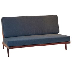 George Nakashima Slat Back Two-Seat Settee