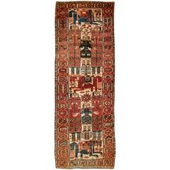 Vintage Persian Bakhtiari Rug