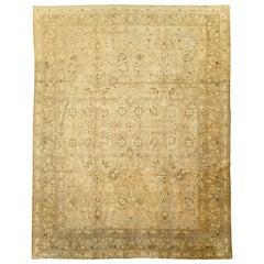 Vintage Persian Tabriz Carpet