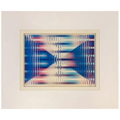 Signed and Numbered Lenticular Agamograph by Yaacov Agam