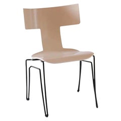 Donghia Anziano Occasional Chair in Ivory Lacquer