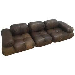 Vintage Camaleonda Modular Lounge Sofa by Mario Bellini for B & B Italia, 1970s