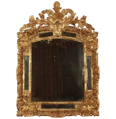 Early 18th Century Régence Giltwood Mirror