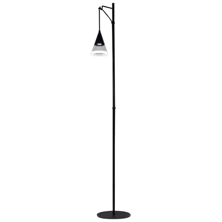 Artemide Vigo Floor Light in Black by David Chipperfield For Sale