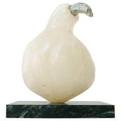 Carved Marble Gourd