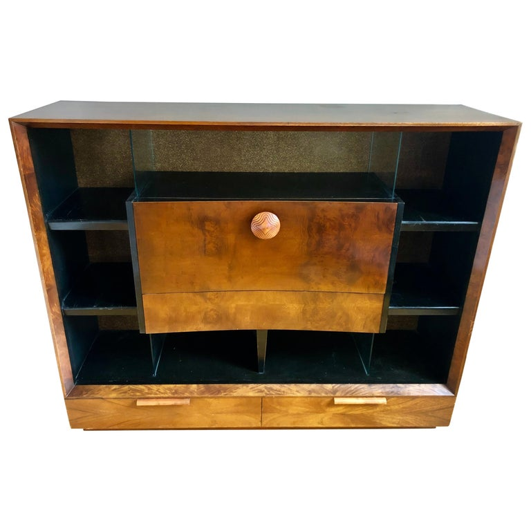 Gilbert Rohde Paldao Secretary Display Case for Herman Miller For Sale