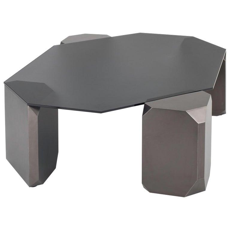 Stonehenge Coffee Table by Avram Rusu Studio For Sale