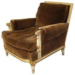 Louis XVI French Club Chair