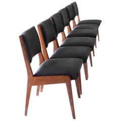 Jens Risom Dining Chairs for Risom Design Inc