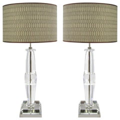 Laudarte Srl Leo Marai Golia Table Lamp by Attilio Amato, Pair Available