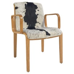 Vintage Bill Stephens for Knoll Chair Restored in Brazilian Cowhide