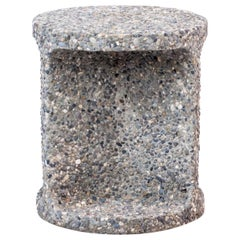 Neolith Stool in Exposed Aggregate