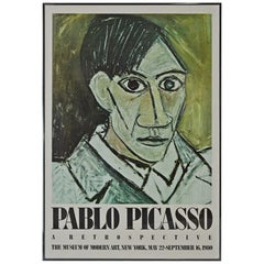 Pablo Picasso Poster for 1980 MOMA Exhibition
