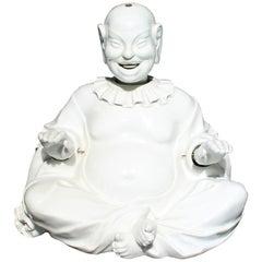 Antique Meissen Porcelain Articulated Nodder Nodding Head Pagoda Figure White