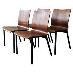 Danish 1970s Midcentury Stacking Chairs