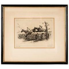 Paul Desmond Brown, Etching, Open Edition, Equestrian