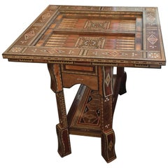 Moroccan Folding Game Table