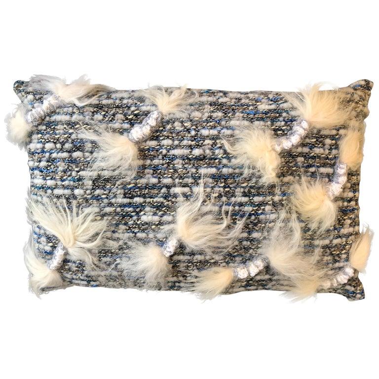 """Rimini"" Merino Wool Pillow For Sale"