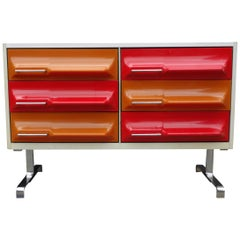Midcentury Pair of Dressers by Giovanni Maur
