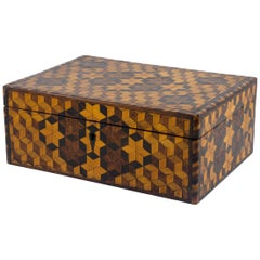 Marquetry Sewing Box