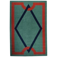Andre Arbus Designed, Large Art Deco Rug
