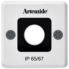 Artemide Ego 55 Square Downlight in Aluminum by Ernesto Gismondi