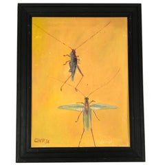 Painting of Grasshoppers, circa 1936