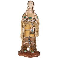 Cheyenne Princess Doll Sculpture