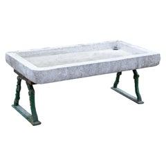 Marmor-Waschbecken, Italien 19.-20. Jahrhundert