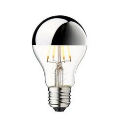 LED Arbitrary Bulb, Silver Mirror