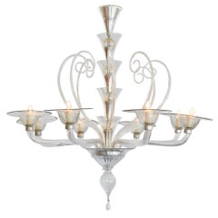 Murano Glass Vintage Chandelier