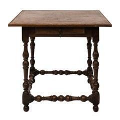 French Walnut Table, circa 1740