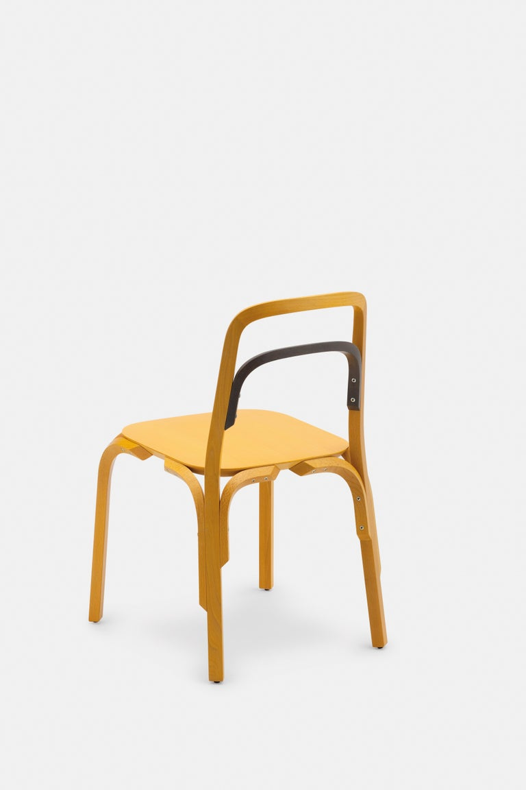 Gamper's creation of the Sessel chair was driven by a fascination of the traditional bentwood archetype and the way in which its industrialised production has been mastered throughout its 150 yearlong history. Aspiring to create his first production
