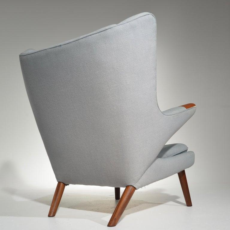 Danish Papa Bear Chair, Model AP 19, by Hans J. Wegner for A.P. Møbler