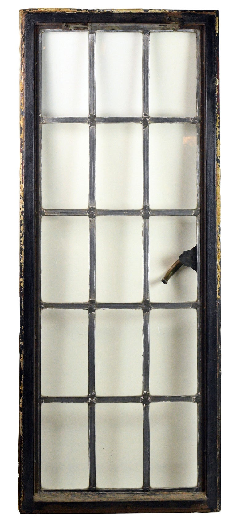 American Iron Frame Window For Sale
