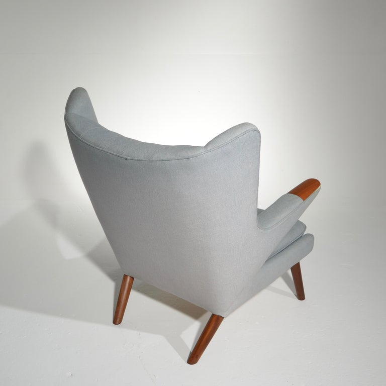 Papa Bear Chair, Model AP 19, by Hans J. Wegner for A.P. Møbler In Good Condition In Los Angeles, CA