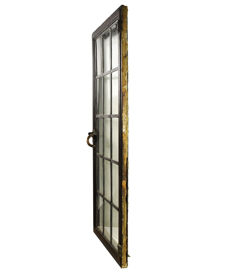 Iron Frame Window In Good Condition For Sale In Minneapolis, MN