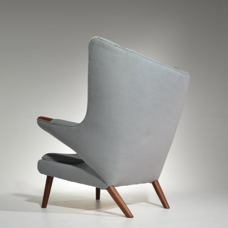 Mid-20th Century Papa Bear Chair, Model AP 19, by Hans J. Wegner for A.P. Møbler
