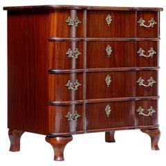 Mid-20th Century Mahogany Baroque Inspired Commode