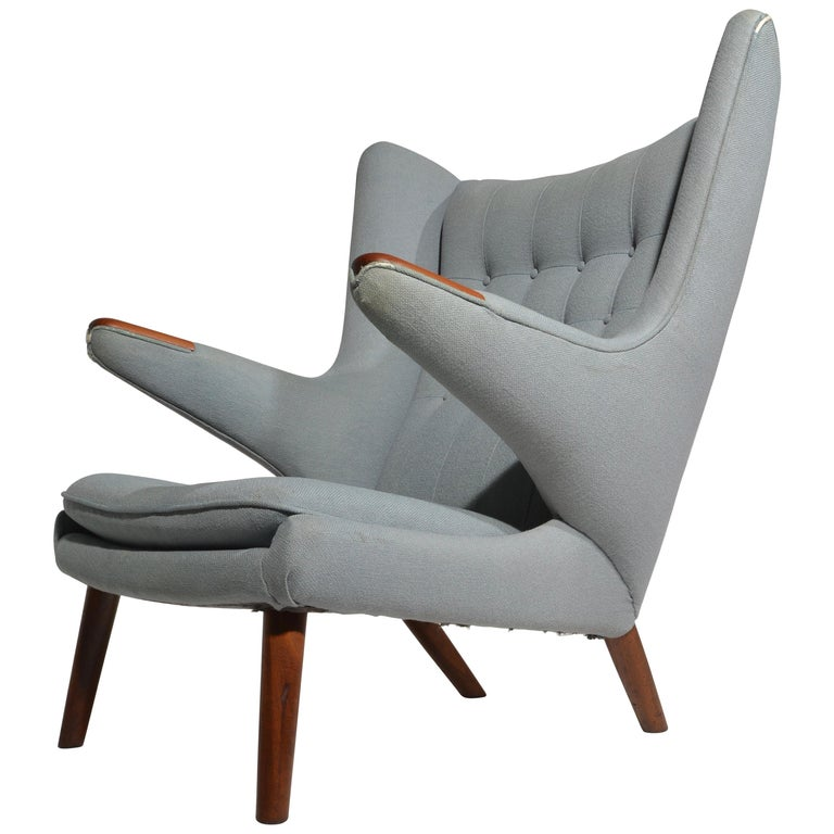 Sensational Papa Bear Chair Model Ap 19 By Hans J Wegner For A P Mobler Ibusinesslaw Wood Chair Design Ideas Ibusinesslaworg