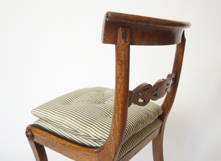 Chairs by George Bullock, Set of 4, England, 1816 For Sale 3