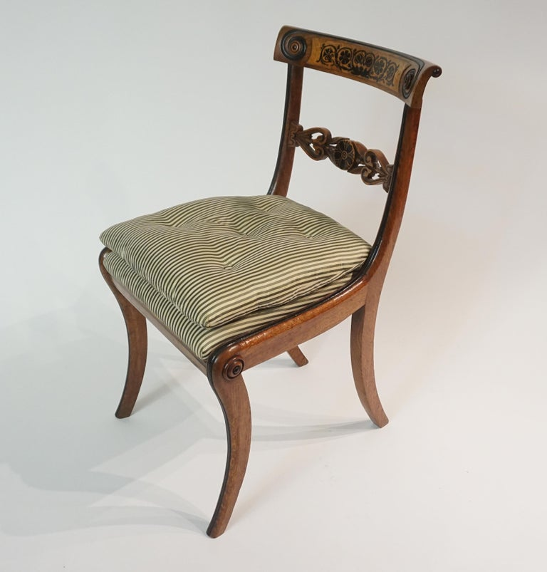 Chairs by George Bullock, Set of 4, England, 1816 For Sale 4