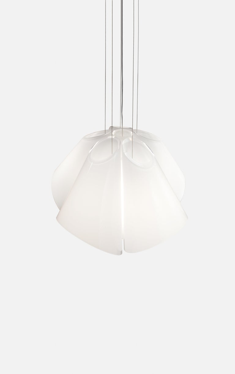 Modern Established & Sons Superconic White Pendant Light by Matali Crasset For Sale