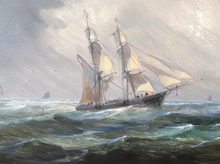 Other Painting Marine style of Carl Frederik Sørensen